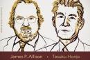 Giải Nobel Y học 2018 trao cho hai nhà khoa học Mỹ và Nhật Bản